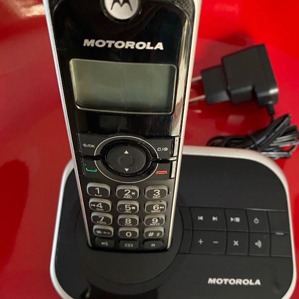 Telefone digital sem fio motorola dect 6.0 gate 4500se