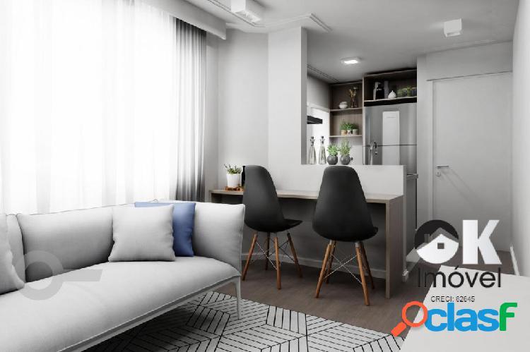 Apartamento reformado: 40m², 1 quarto e 1 vaga – higienópolis