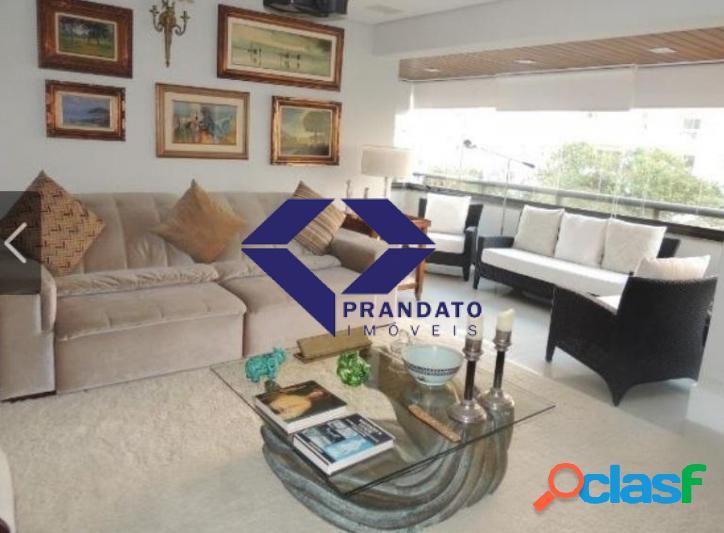 Apartamento à venda campo belo sp, 260 m² por r$ 2.400.000,00