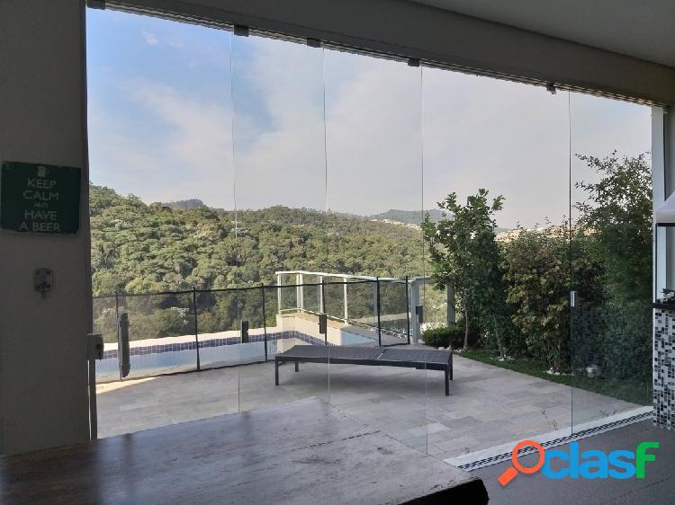 Casa de codomínio em alphaville a venda semi nova vista panorâmica linda
