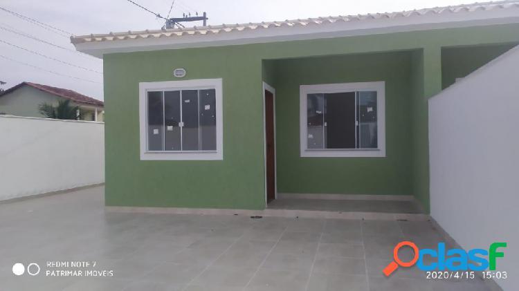 Casa com 2 quartos em excelente localização de itaipuaçu!!