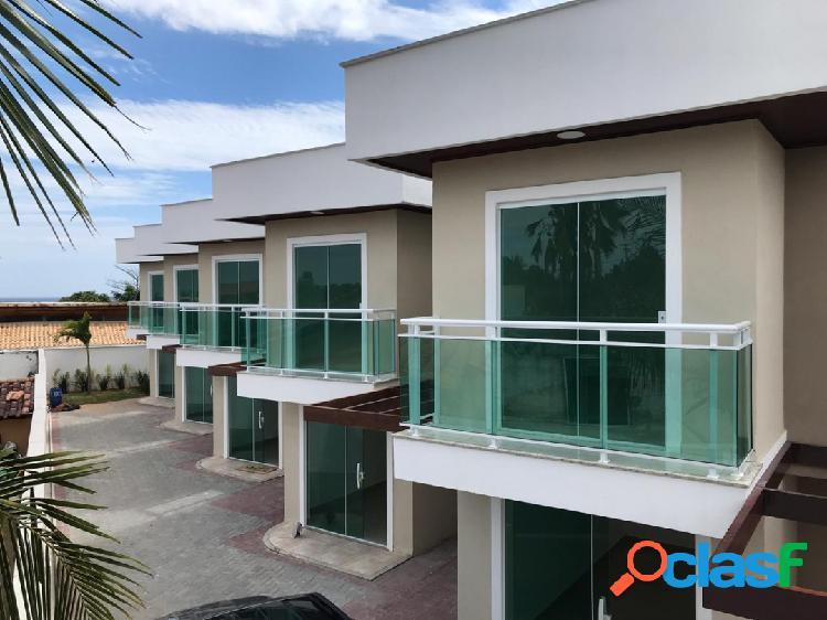 Linda casa duplex com 2 quartos e vista para praia em itaipuaçu!