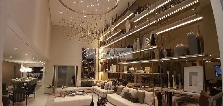 Apartamento luxo de 308 m² com 4 suítes e 4 vagas de