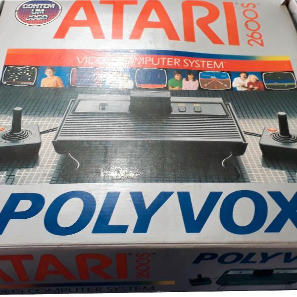 Atari 2600s polivox item de colecionador