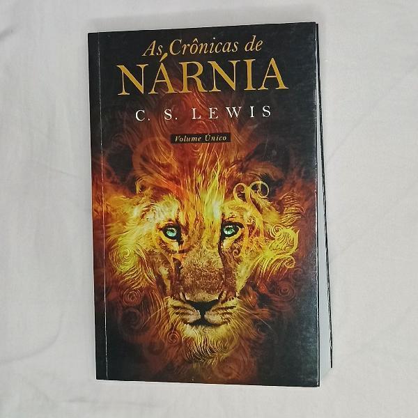As crônicas de nárnia - volume único
