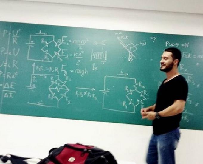 Aulas particulares química física matemática enem e vests