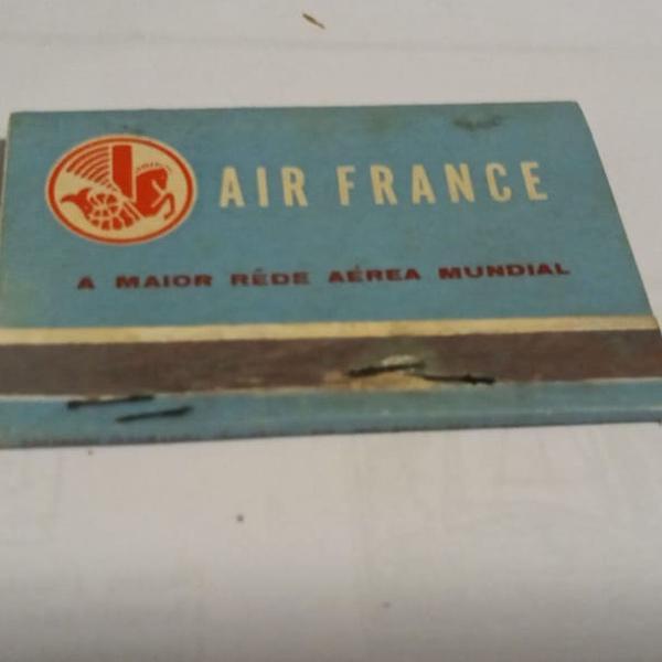 Caixa de fósforo cia aérea air france - década de 50 - cx