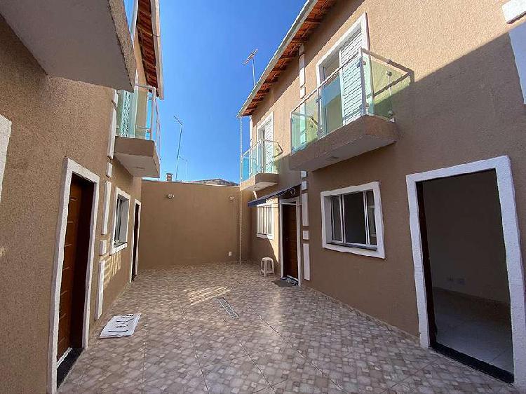 Casa de condomínio para venda possui 62 metros quadrados