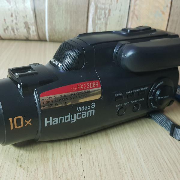 Filmadora sony handycam vídeo 8 np-68