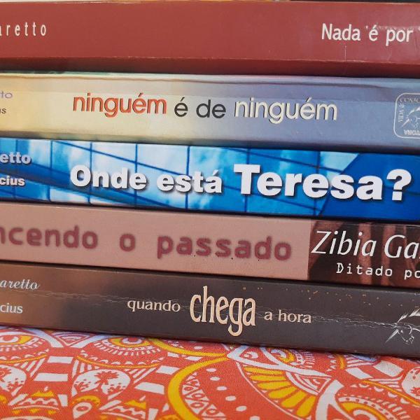 Kit - livros da zíbia gasparetto