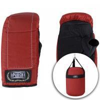 Kit de boxe punch com saco de pancada + luvas de bate