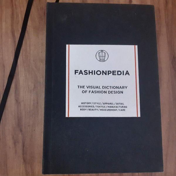Livro fashionpedia - the visual dictionary of fashion design