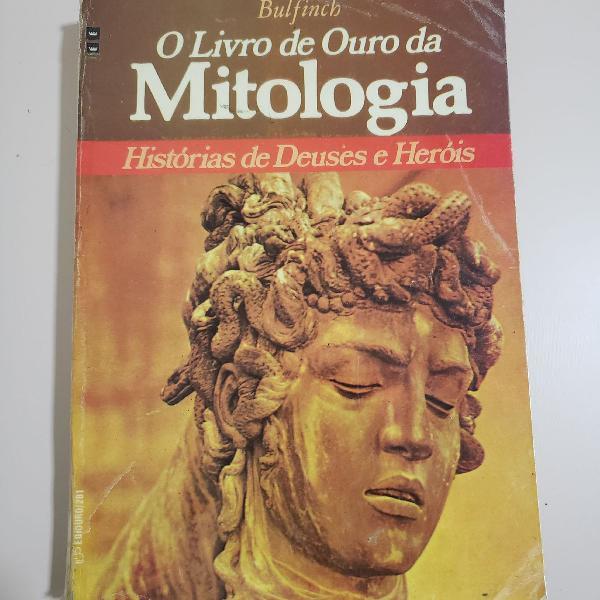 Livro histórias de deuses e heróis