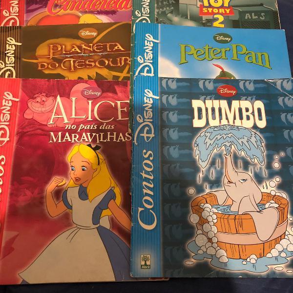 Livros contos disney