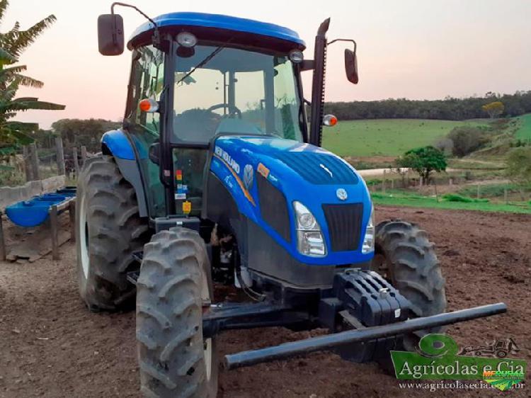 Trator new holland tl 75 e 4x4 ano 18