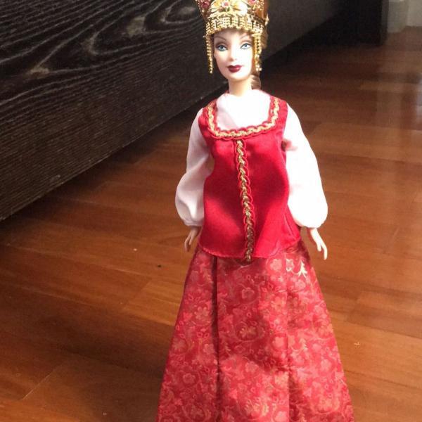 Barbie colecionador rússia