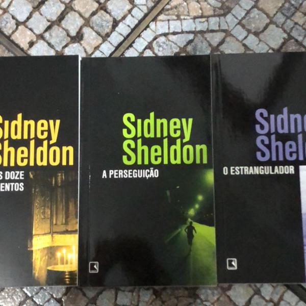 Box de livros sidney sheldon