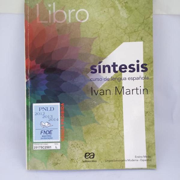 Espanhol sintesis libro 1