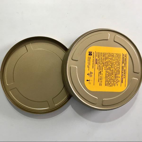 lata para filmes 35mm