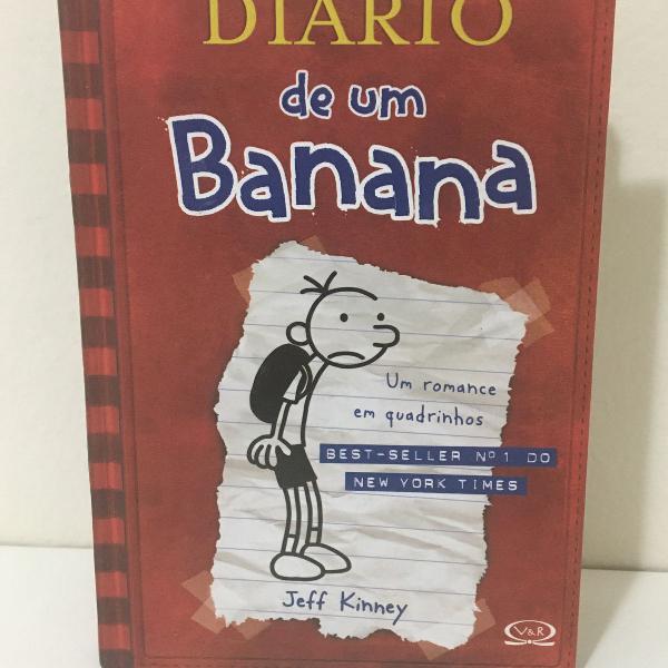 Livro diário de um banana! perfeito estado