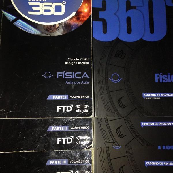 Livros 360 ° física volume único