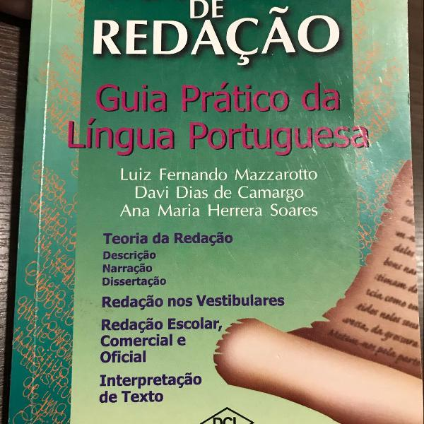 Manual de redação - guia prático da língua portuguesa