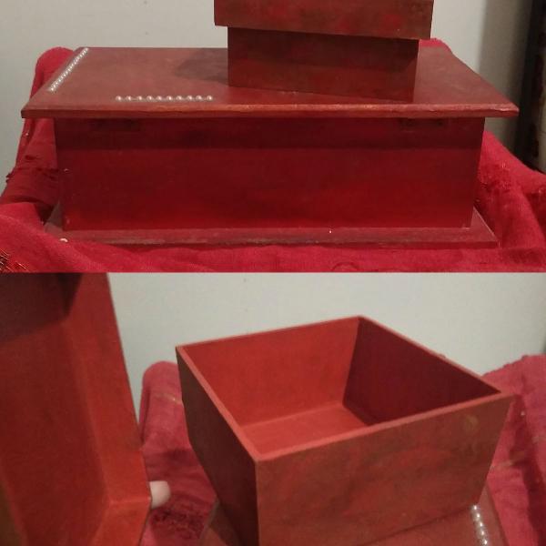 Porta jóias caixinhas bijoux artesanais