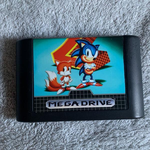 Sonic 2 (original tectoy) - mega drive