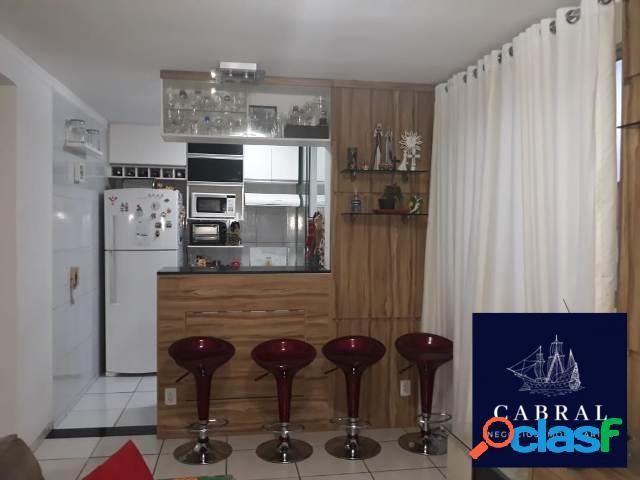 Apartamento com 2 quartos à venda, 45 m² por r$ 195.000