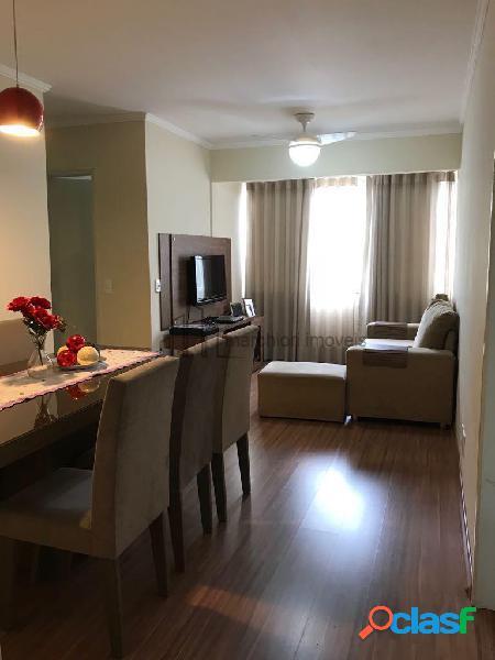 Apartamento 2 quartos montado, 1 vaga de garagem, lazer