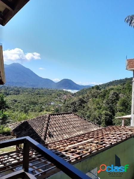 Sobrado 3 dorms altos da vila itamambuca com belíssima vista mar