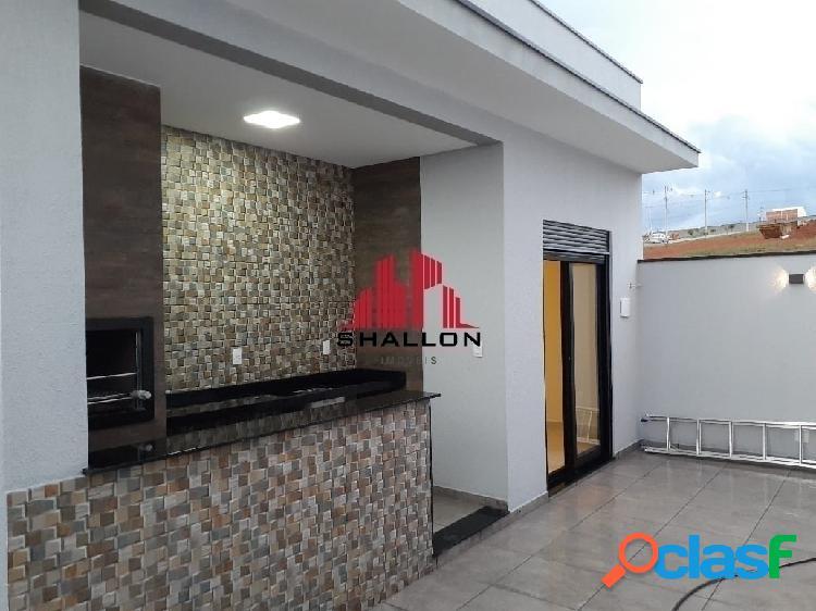 Casa térrea 03 dormitórios em condomínio villagio ipanema