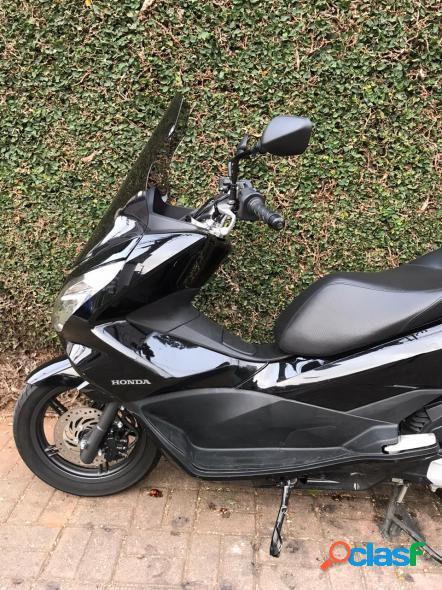 Honda honda pcx 150 preto 2016 150 gasolina
