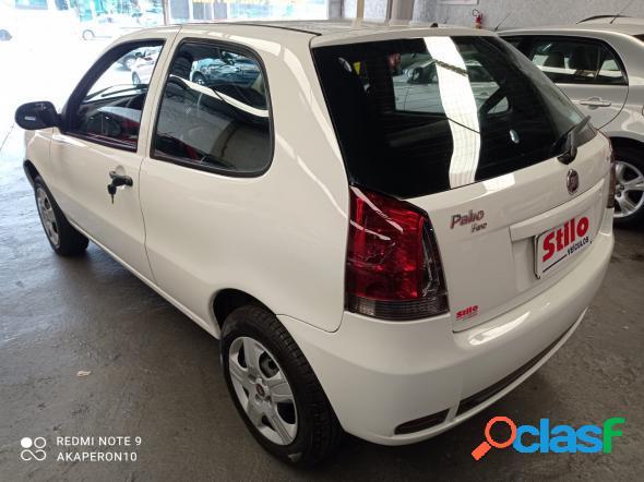 Fiat palio 1.0 economy fire flex 8v 2p branco 2012 1.0 flex