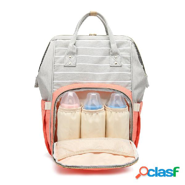 Múmia mochilas oxford grande mochilas para mamãe fralda de maternidade bolsa bebê de grande capacidade bolsas