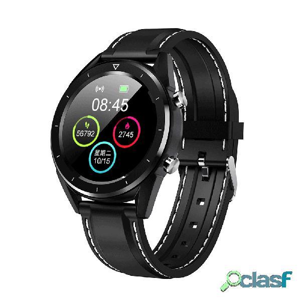 Relógio esperto do pagamento móvel esperto da pressão sanguínea do monitor do relógio ecg do relógio da exposição grande