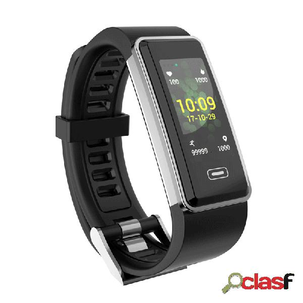 Monitor de pressão arterial em tempo real hr multi-sport aptidão monitor de atividade rastreador long standby smart watch banda