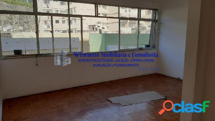 Lindo apartamento para locação em icaraí, na rua belisário augusto - rj