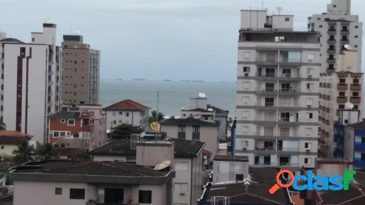 Apartamento de um dormidoiro com vista mar elevador 155 mil