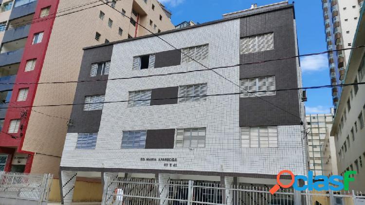 Apartamento vista mar 2 dormitório 3 andar escada no guilhermina 180 mil