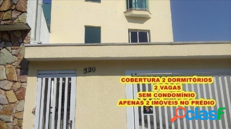 Cobertura com 134 m² sendo apenas 2 imóveis no prédio muita privacidade