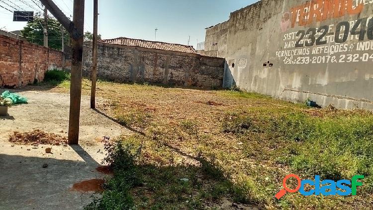 Terreno plano - vila carol - sorocaba