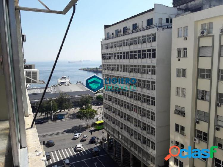 Principal avenida do centro de niterói prédio estritamente comercial