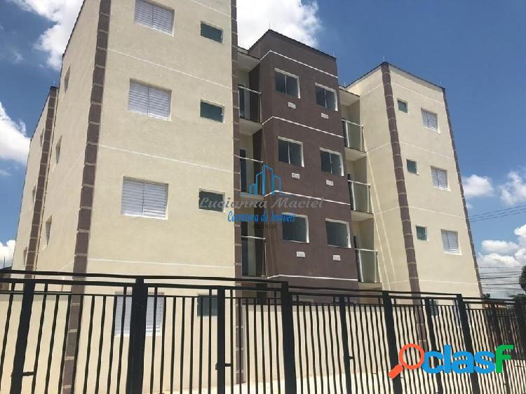 Apartamento com sacada, 2 dormitórios com 49 m² - vila angélica