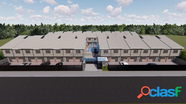 Sobrados 02 dormitórios, entrada super facilitada no villagio ipanema i