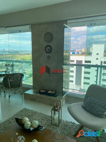 Lindo apartamento 02 dormitórios no grand view luxury residence - aquarius