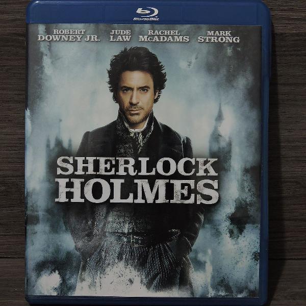 Blu-ray: Sherlock Holmes (novo sem lacre)