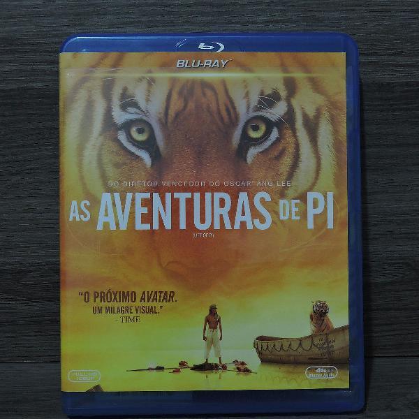 Blu-ray - as aventuras de pi