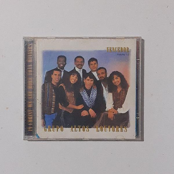 CD: Grupo Altos Louvores - Vencedor (Volume 12)