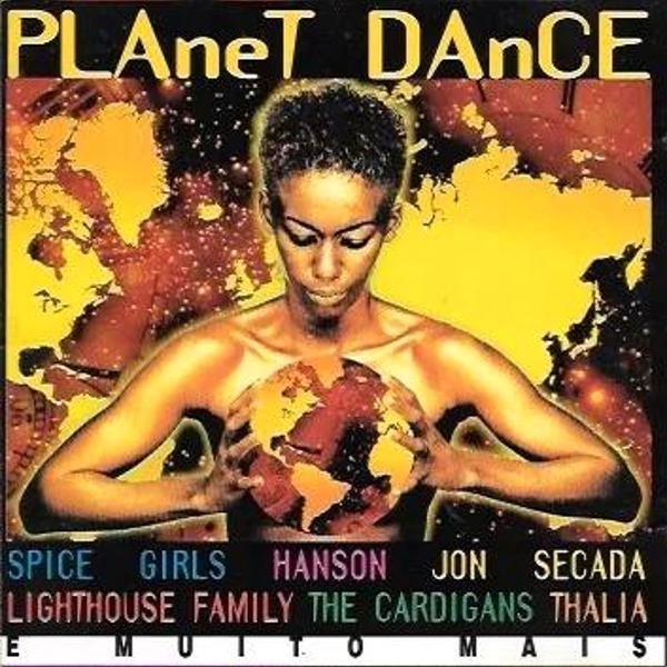 Cd: planet dance (c/ thalia; hanson; spice girl;s bob